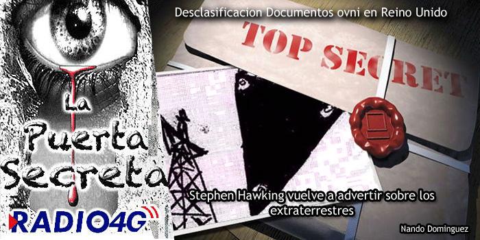 Reino Unido Desclasifica Documentos Ovni Secretos / los extraterrestres de Stephen Hawking