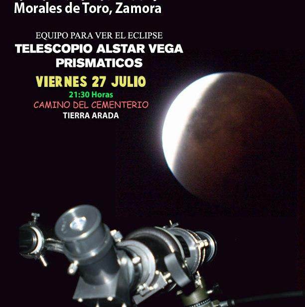 Eclipse Lunar -Luna de Sangre-