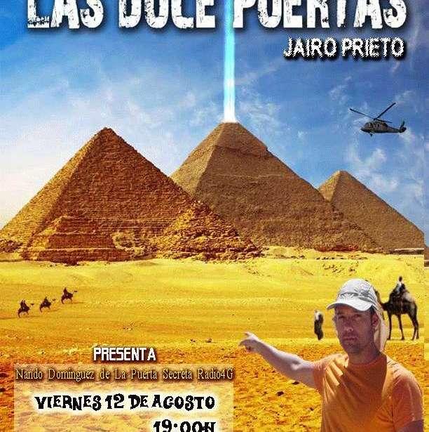 Presentacion de la novela ·Las Doce Puertas· de Jairo Prieto Presenta Nando Dominguez