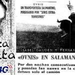 Encuentro con Humanoides en Salamanca 1974 Maximiliano Iglesias Sanchez Ovnis en Salamanca