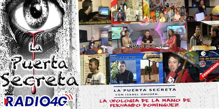 Nando Dominguez en La puerta Secreta Radio4G