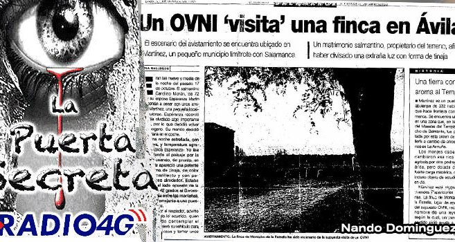 """Un Ovni visita una finca en Avila 1997 """"CASO MONTALVO"""""""