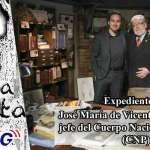 Expedientes X en Zamora Jose Maria de Vicente ex inspector del (CNP) y Nando Dominguez