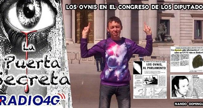 Los Ovnis en el Congreso de los Diputados España PP PSOE IU tras los Ovnis
