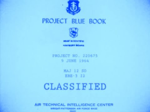 Informes OVNI de las Fuerzas  EE.UU Project Blue Book, 10,000+ case files Torrent