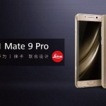 Se agrandó la familia: Huawei presentó el Mate 9 Pro