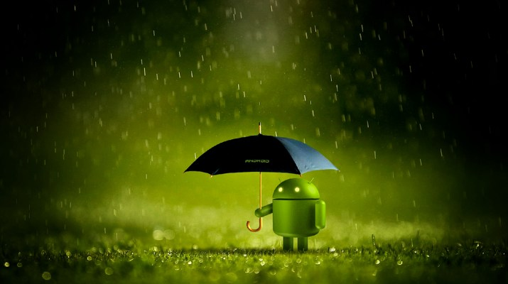 Android paraguas