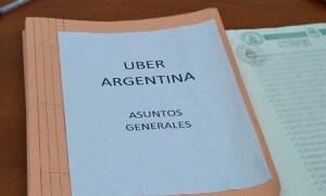 Expediente Uber Argentina