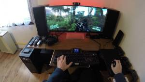 Gamer videojuego