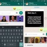 WhatsApp incorporó un buscador de GIF animados