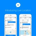 Facebook Messenger también permite compartir la ubicación en tiempo real