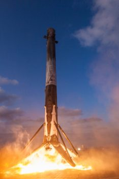 Aterrizaje Falcon 9 2