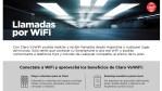 Claro VoWiFi: Claro comenzó a ofrecer llamadas vía Wi-Fi