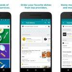 Google Areo, una app para pedir comida y reparaciones a domicilio