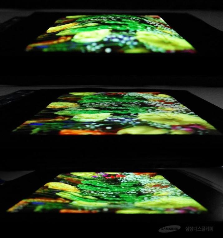 Samsung pantalla elastica