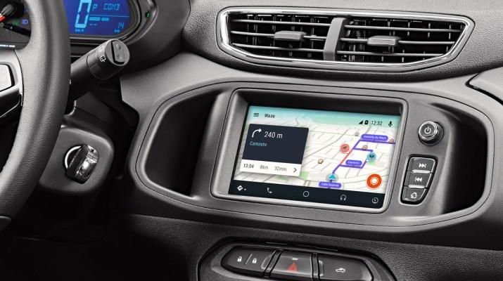 Android Auto Waze
