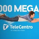 TeleCentro ofrece 1.000 megas de internet para hogares