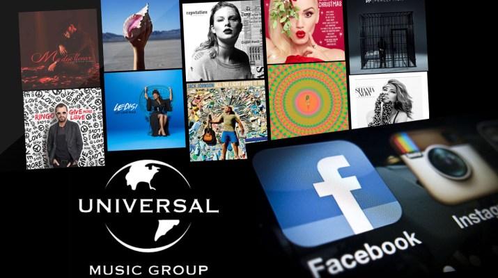 Universal Music Facebook
