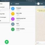 WhatsApp sumará etiquetas para ordenar chats importantes