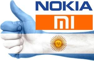 Nokia Xiaomi Argentina