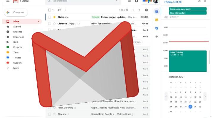 Nuevo Gmail web