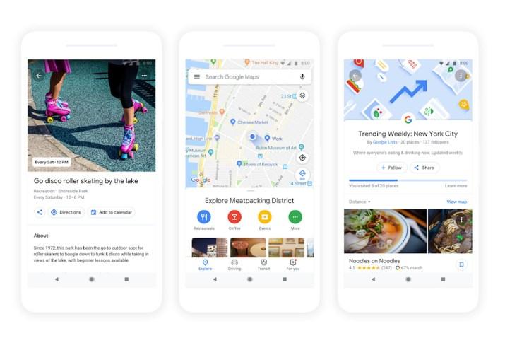 Google Maps Explorar