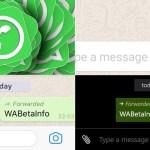 WhatsApp te avisará si alguien reenvía tu mensaje