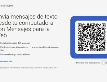 Android Mensajes Web
