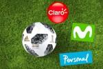 Personal y Movistar se suman a Claro con packs especiales por el Mundial de Rusia