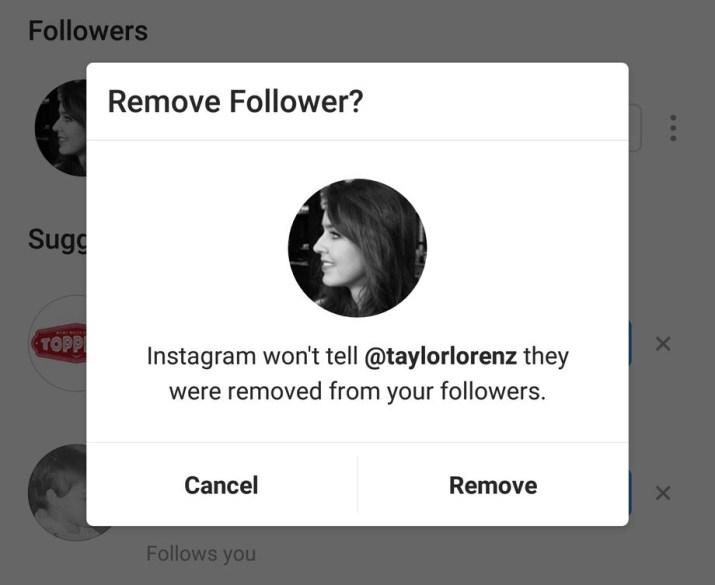 Remover seguidores Instagram