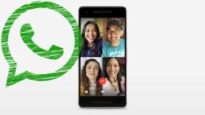 Videollamadas grupales WhatsApp