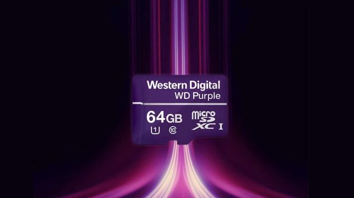 WD Purple microSD