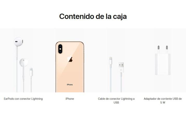 Caja iPhone XS Max