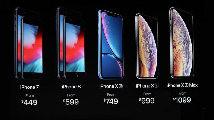 Precio iPhone XS Argentina
