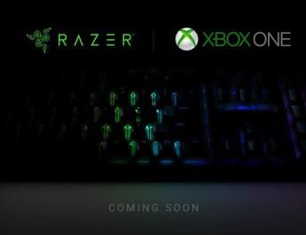 Xbox One mouse teclado