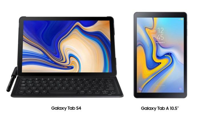 Galaxy Tab S4 Galaxy Tab A 10.5