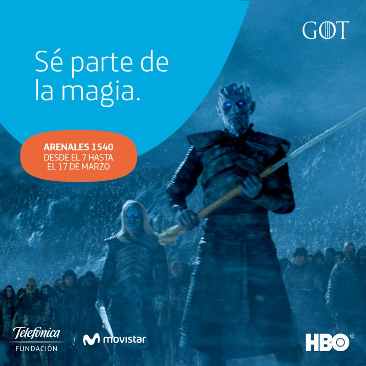 Game of Thrones Telefonica