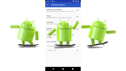 Bloqueo llamadas Android