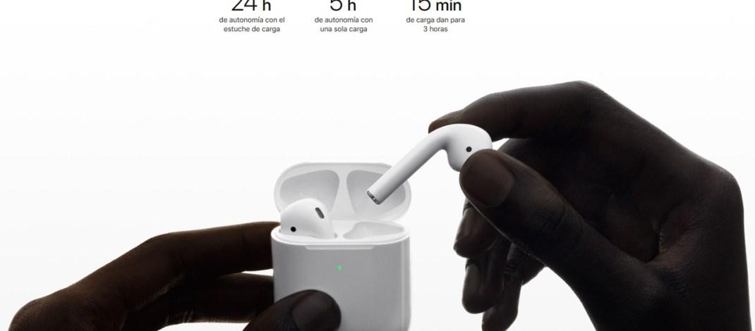 Apple tiene nuevos AirPods, con recarga inalámbrica (también para el modelo actual), Siri integrado y más autonomía