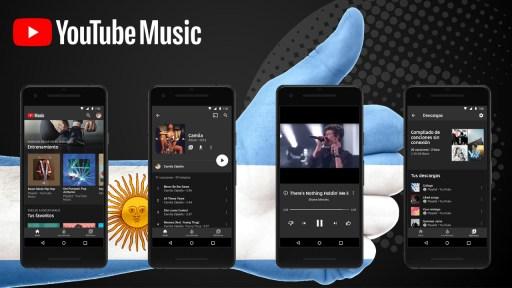YouTube Music Argentina