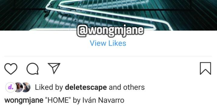 Instagram Me gusta detalle