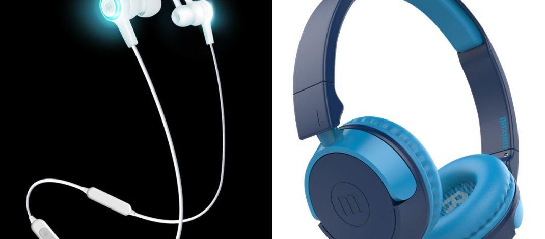 Maxell presentó en Argentina dos modelos de auriculares Bluetooth