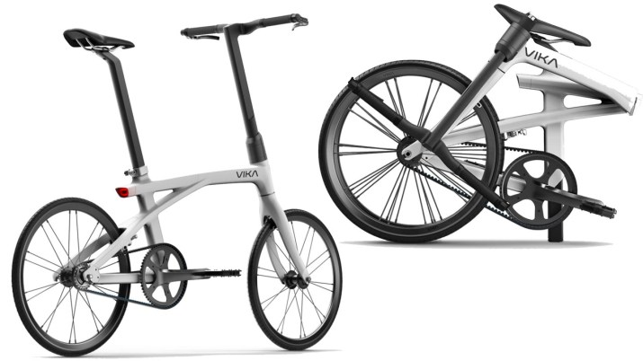 Model Zero bici plegable