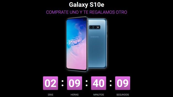 Promocion Claro Galaxy S10e dia del padre