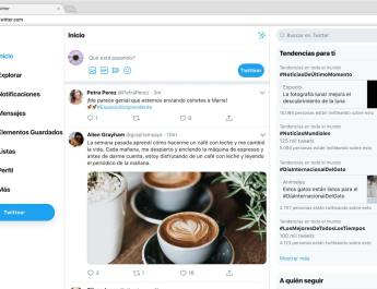 Nuevo diseño Twitter