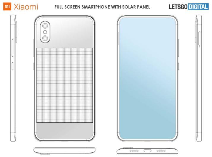 Celular solar Xiaomi