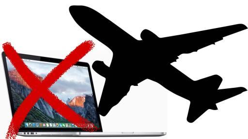 Apple MacBook Pro aviones