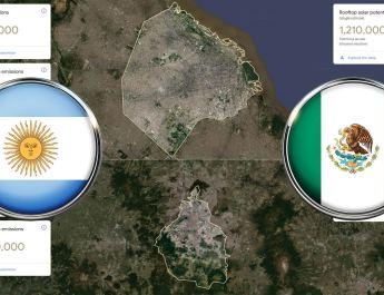 ¿Cuántas emisiones generan los edificios y el transporte? Google reveló datos sobre 8 ciudades de América Latina y qué zonas son ideales para colocar paneles solares