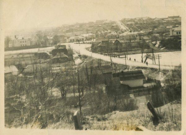 Фото села Словечно, 60-ті роки ХХ ст.   Овруч, сторінки ...