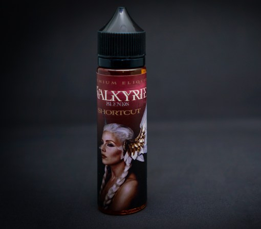 Short Cut Valkyrie Blends Egypt | cheese cake strawberry perfectly blended with creamy custard with sweets for a great vaping experience vape